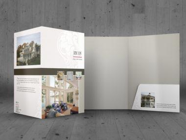 Presentation Folder - Custom Design - Cape Cod Graphic Artist Darlene Billmair